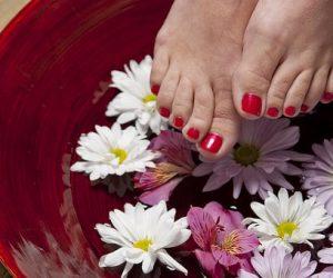 Bain pieds libre